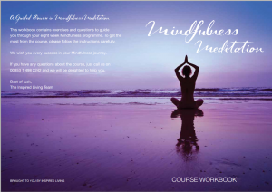 Mindfulness Course Workbook