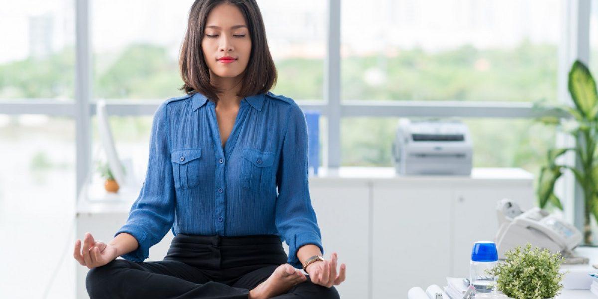 Meditation in office